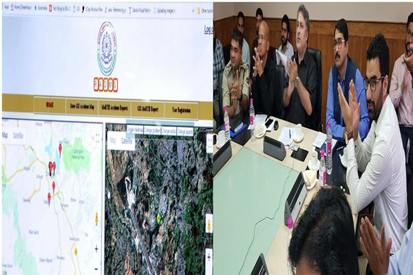 In a first, Road Accident Data Management System launched in JK