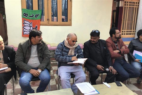BJP all set to sweep Panchayat polls in Kashmir: Ashok Koul