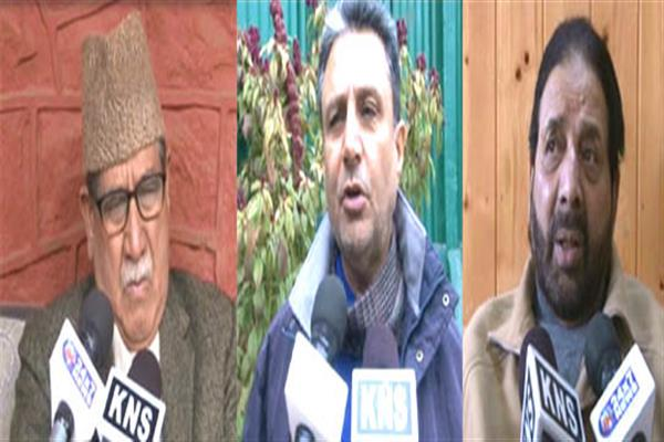 Regional mainstream parties pitch for dissolution of assembly in JK
