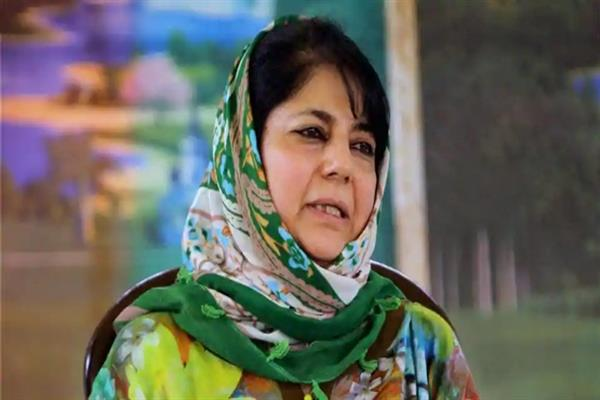 Country's divisive discourse contributes negatively on Kashmir situation: Mehbooba