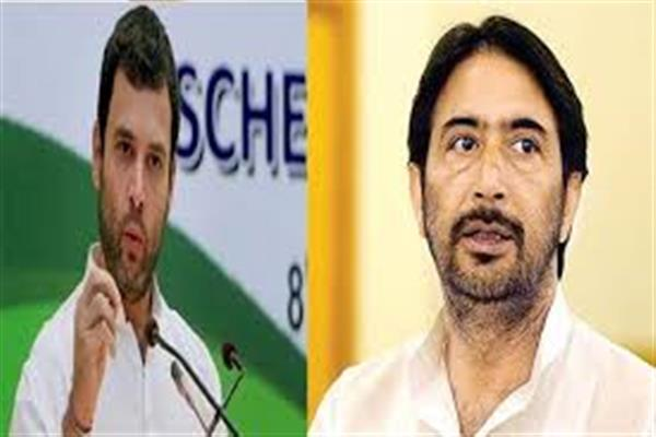 G A Mir discusses party affairs, JK situation with Rahul Gandhi