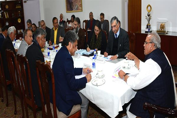 Governor chairs high level meeting of Vice-Chancellors