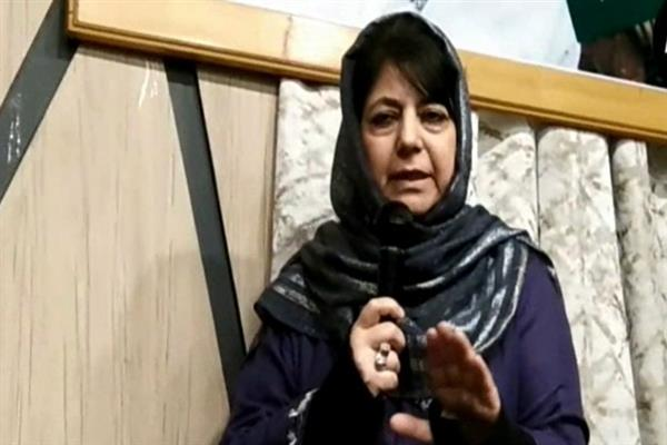 Our alliance with BJP was also for safety of Jammu Muslims: Mehbooba Mufti