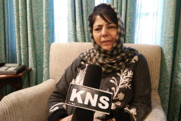 If BJP thinks talking pro-people is anti-national, what can I say: Mehbooba