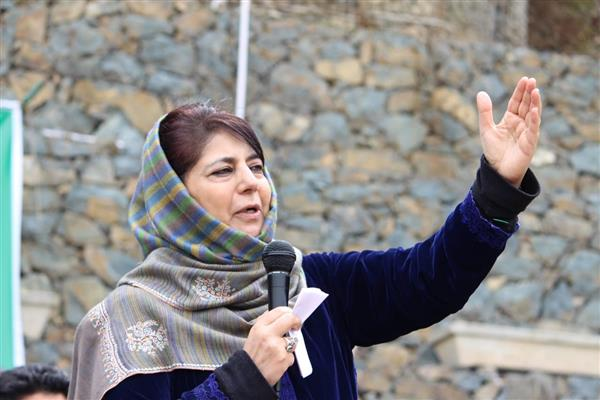NIA was brought to JK by Omar led NC-Congress regime in 2009: Mehbooba