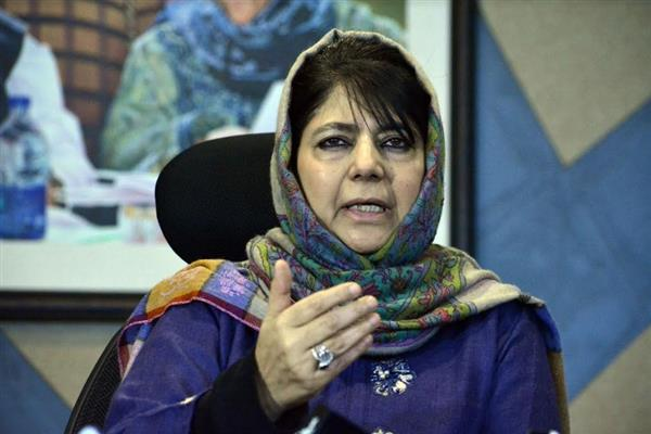 Will oppose any move aimed at harassing, suppressing people of state, their unique identity: Mehbooba Mufti