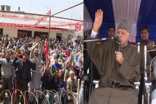 Any attempt to harm Art 370, Art 35A will cast shadow on accession of J&K with India: Farooq Abdullah