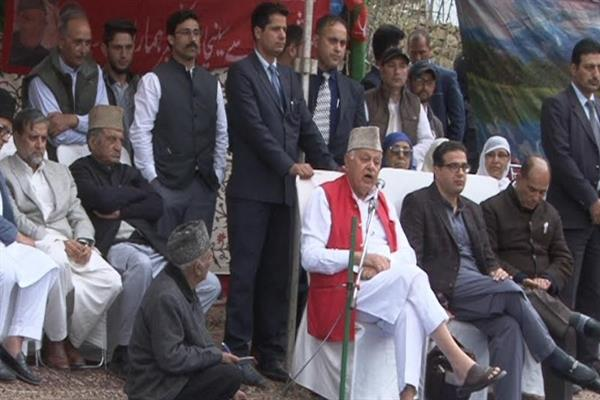 No one can abridge our constitutional rights: Farooq Abdullah