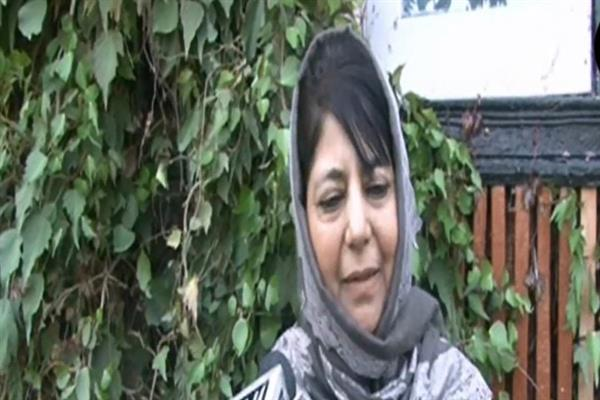 LoC trade ban: Whatever Vajpayee has done Modi wants to demolish that: Mehbooba