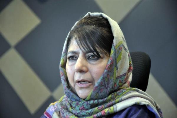 Mehbooba calls for Ramadhan ceasefire, appeals militants to also halt their operations