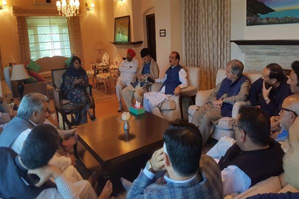 'PDP appeals all regional parties to join hands for pro-Kashmir agenda to defeat divisive forces'