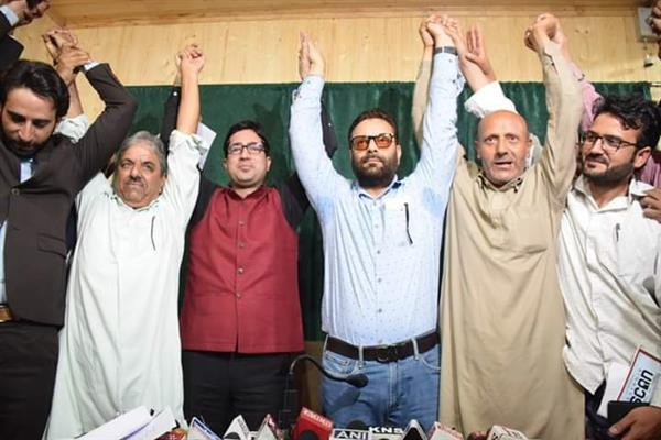 JKPM-AIP join hands, form Peoples United Front