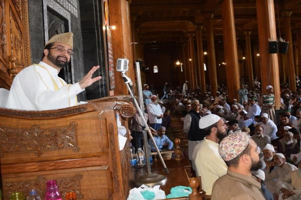 Easy money available to children makes access to drugs easy for them: Mirwaiz