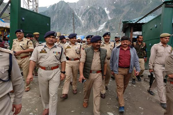 Amarnath Yatra:  DGP takes stock of arrangements at Baltal, Panjtarni, Sheshnag