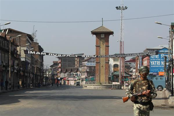 Burhan's third anniversary: Kashmir shuts on JRL's call, authorities impose restrictions in Srinagar parts, Tral