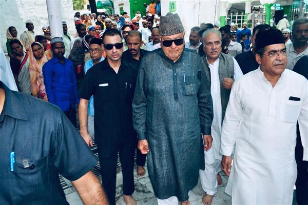 Make Kashmir a zone of peace and not zone of conflict: Farooq Abdullah