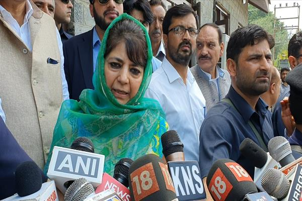 Protection of JK's identity 'do or die situation for us': Mehbooba