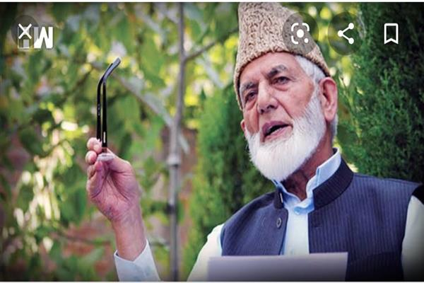 A Week after Geelani's resignation, mystery continues who will lead the amalgam