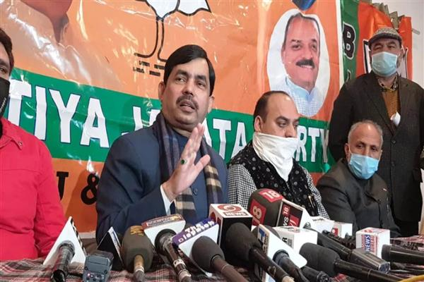 Decisions taken on August 5, 2019 can't be rescinded; PAGD befooling people: BJP leader Shahnawaz Hussain