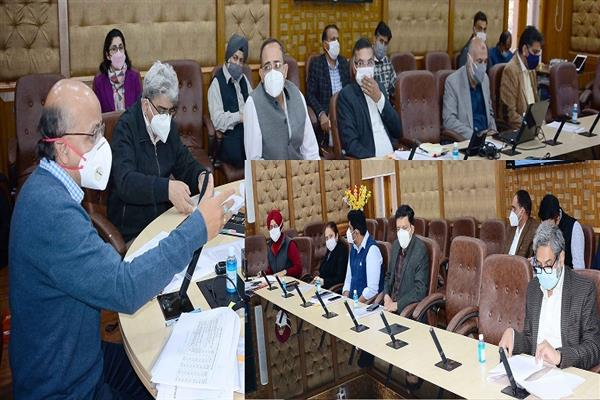 CS reviews status of PMDP Projects