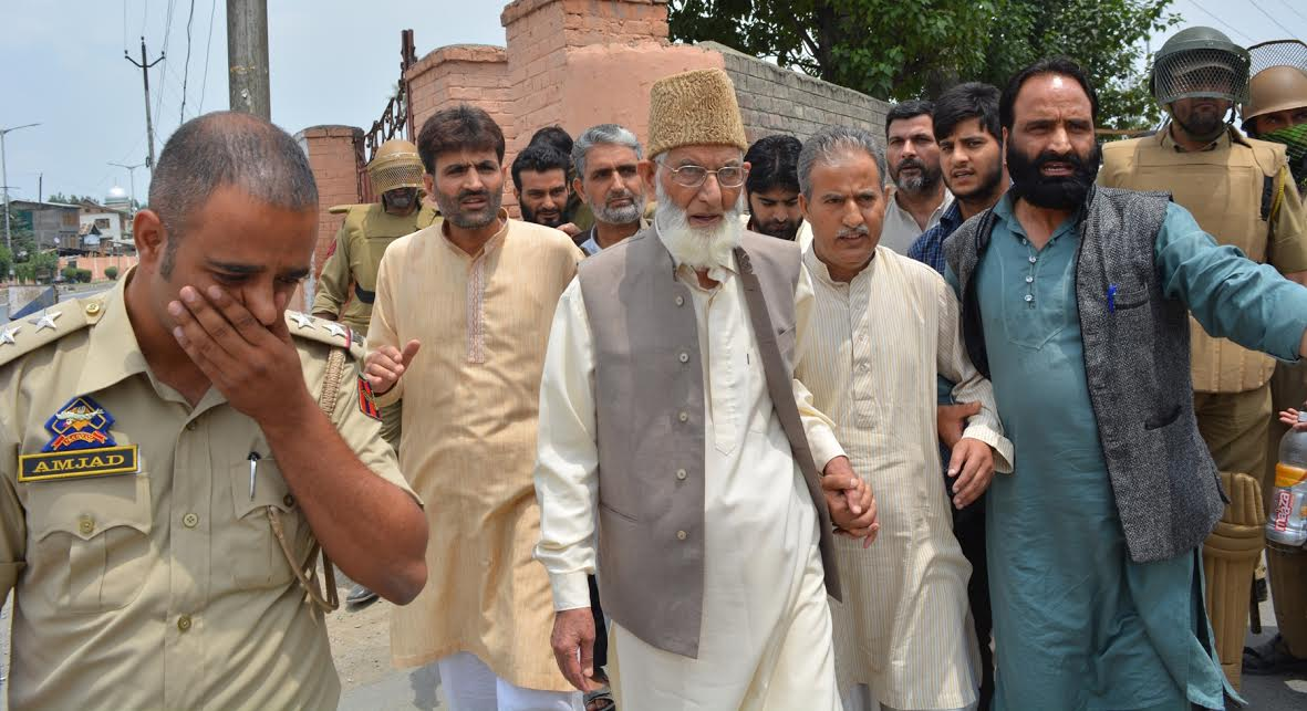 Defiant Geelani Marches To Islamabad, Arrested