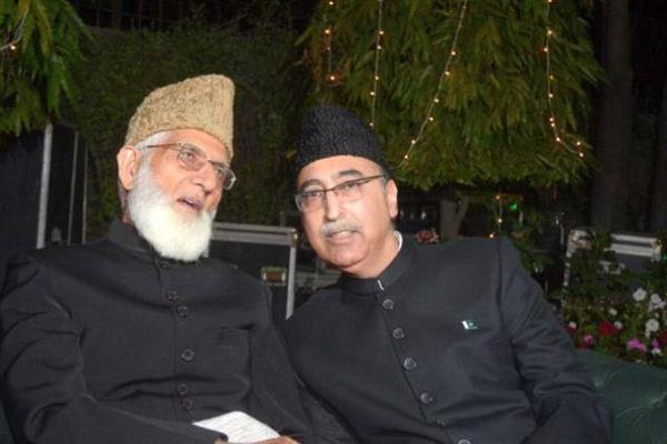 No change in Kashmir policy: Pak High Com to Geelani