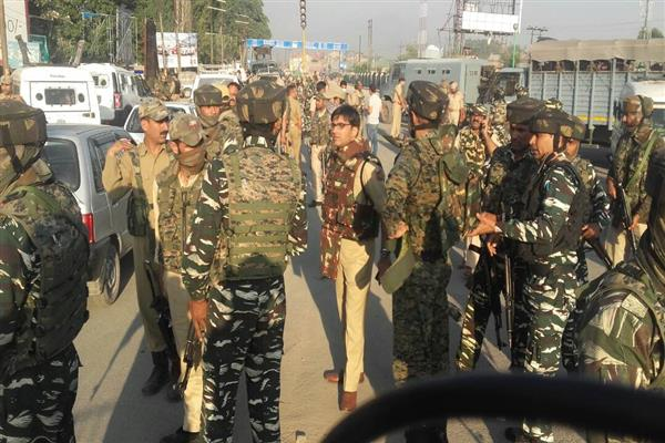 CRPF officer killed, two injured in Pantha Chowk militant attack