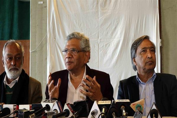 Restoration of 'eroded Art 370' can make Kashmir India's integral part: Yechury