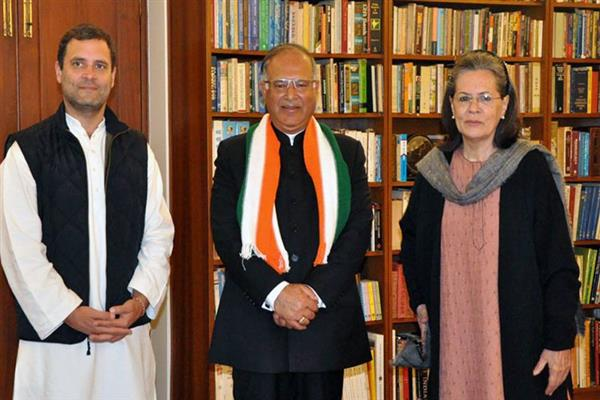 'Congress picks Tariq Hameed Karra for Powerful CWC'