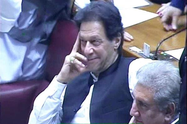 Imran Khan elected 22nd PaK PM