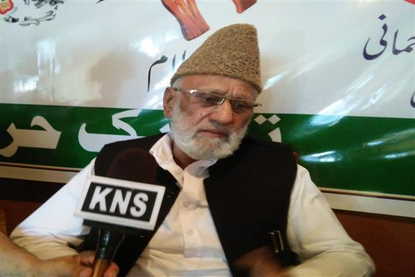 New Delhi hell bent to change demography of J&K: Sehrai