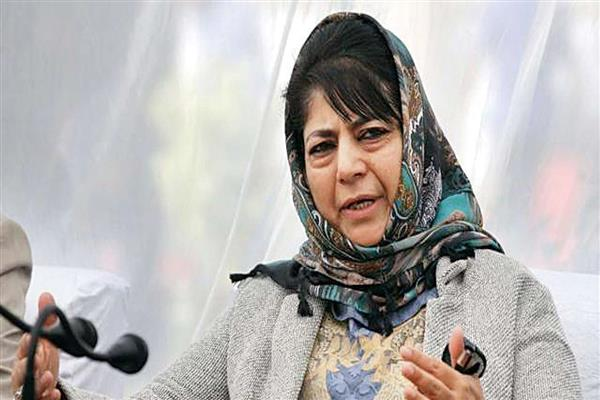 Talks on, alliance for protecting Article 35A, stopping tinkering with laws: Mehbooba
