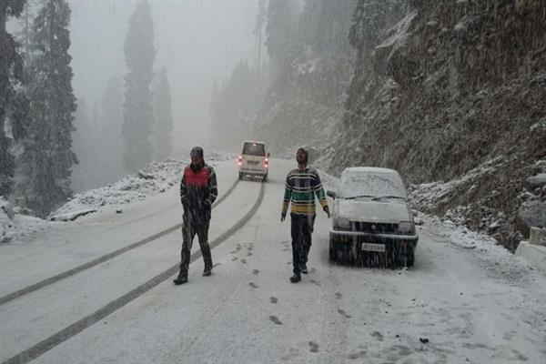 Amid snowfall in higher reaches, MeT predicts dry spell for next ten days