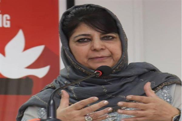 Alliance with BJP was a suicide, Modi was not Vajpayee: Mehbooba