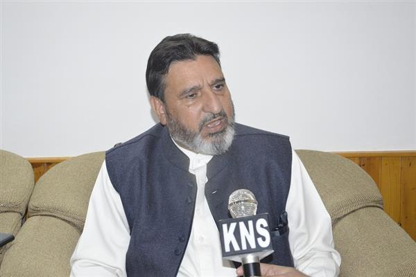 Happy with party's decision, Altaf Bukhari says 'PDP freed me from imprisonment'
