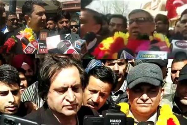 NC, PDP, PC candidates file nomination papers for Bla LS seat