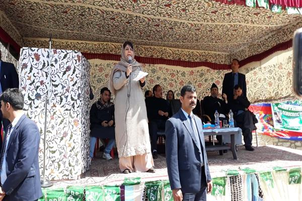 Will revoke ban on JKLF, JeI if PDP comes to power: Mehbooba