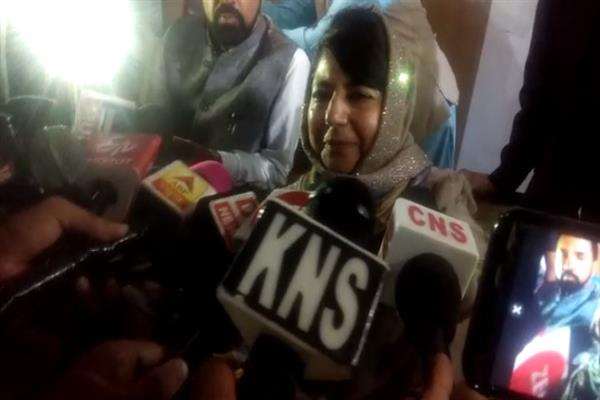 I belong to Anantnag district, people don't know where from Omar comes: Mehbooba
