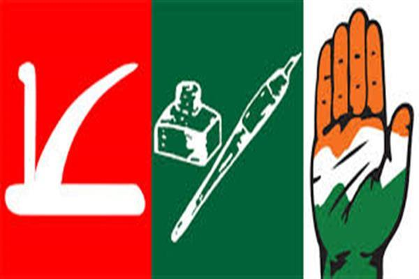 Ahead of official Lok Sabha poll results, parties gear up for celebrations in JK