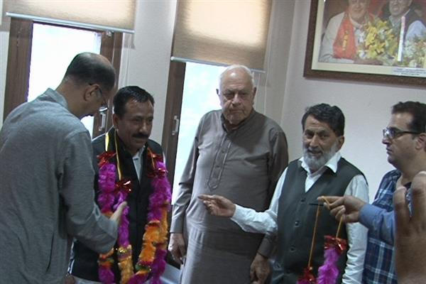 People of state feeling vulnerable in absence of an elected government: Dr Farooq Abdullah