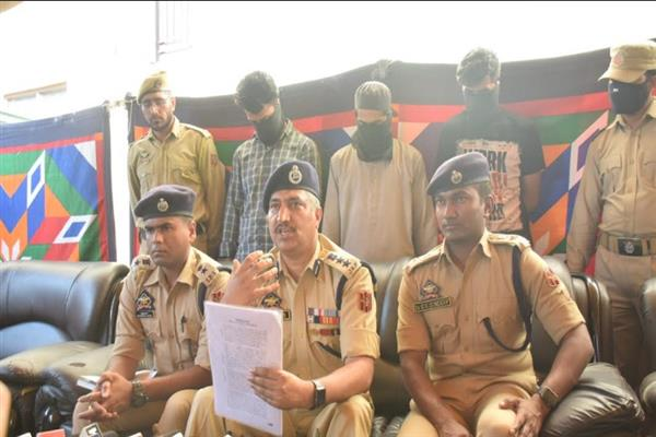 Three HM militants arrested; Junaid Sehrai their mentor: SSP Srinagar