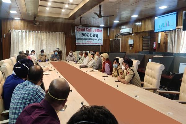 Coordination committee constituted to ensure smooth movement of essential services officials during restrictions in Srinagar