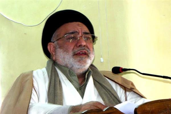 Aga Hasan Pays Tributes To Mirwaiz Farooq Gani Lone Hawal Martyrs