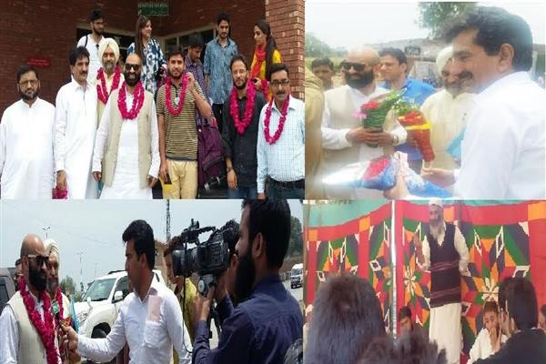 SM leaders pays tribute to Tangmarg, Sopore martyrs