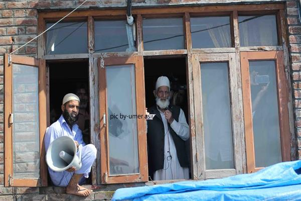 Talks under Indian constitution nothing but a wastage of time: Geelani