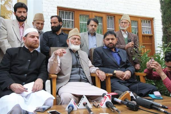 Forces inflicted atrocities to people in state and never treated them as humans: Hurriyat (G)
