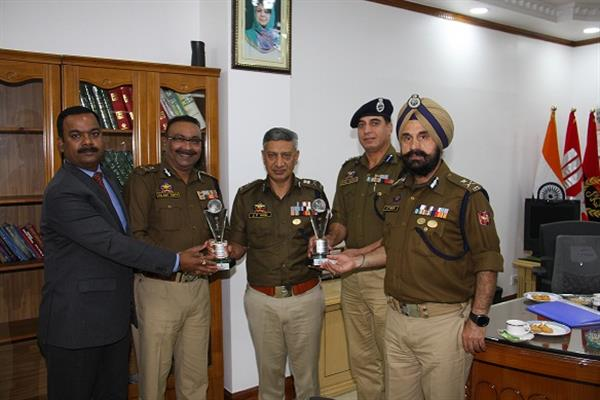 JK Police secures 2nd runner up in All India Police Golf Competition