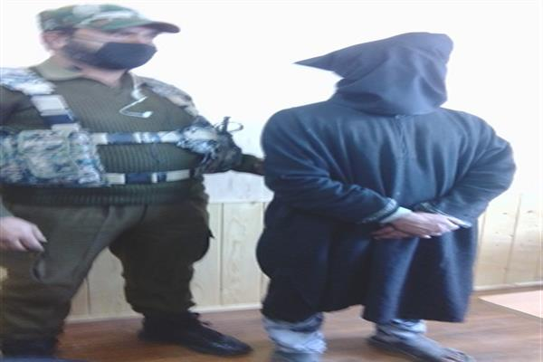 OGW of HM arrested in Kulgam