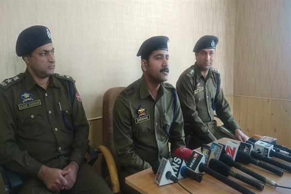Join hands with Police to eradicate drug menace; SP Kulgam