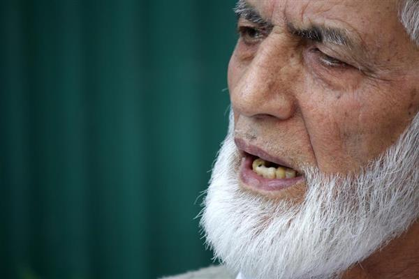 Geelani grieved over number of militant causalities this year